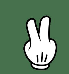 images for 5 finger clipart [ 2400 x 2400 Pixel ]