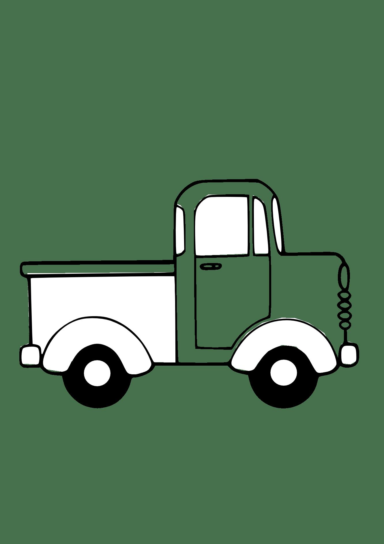 Semi Truck Clip Art Free