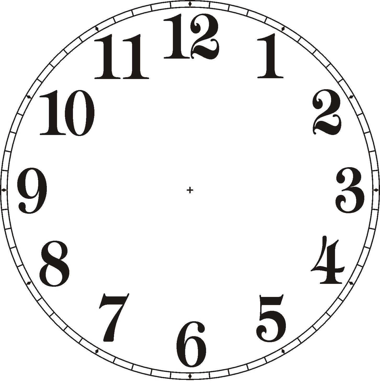 Digital Clock Clip Art