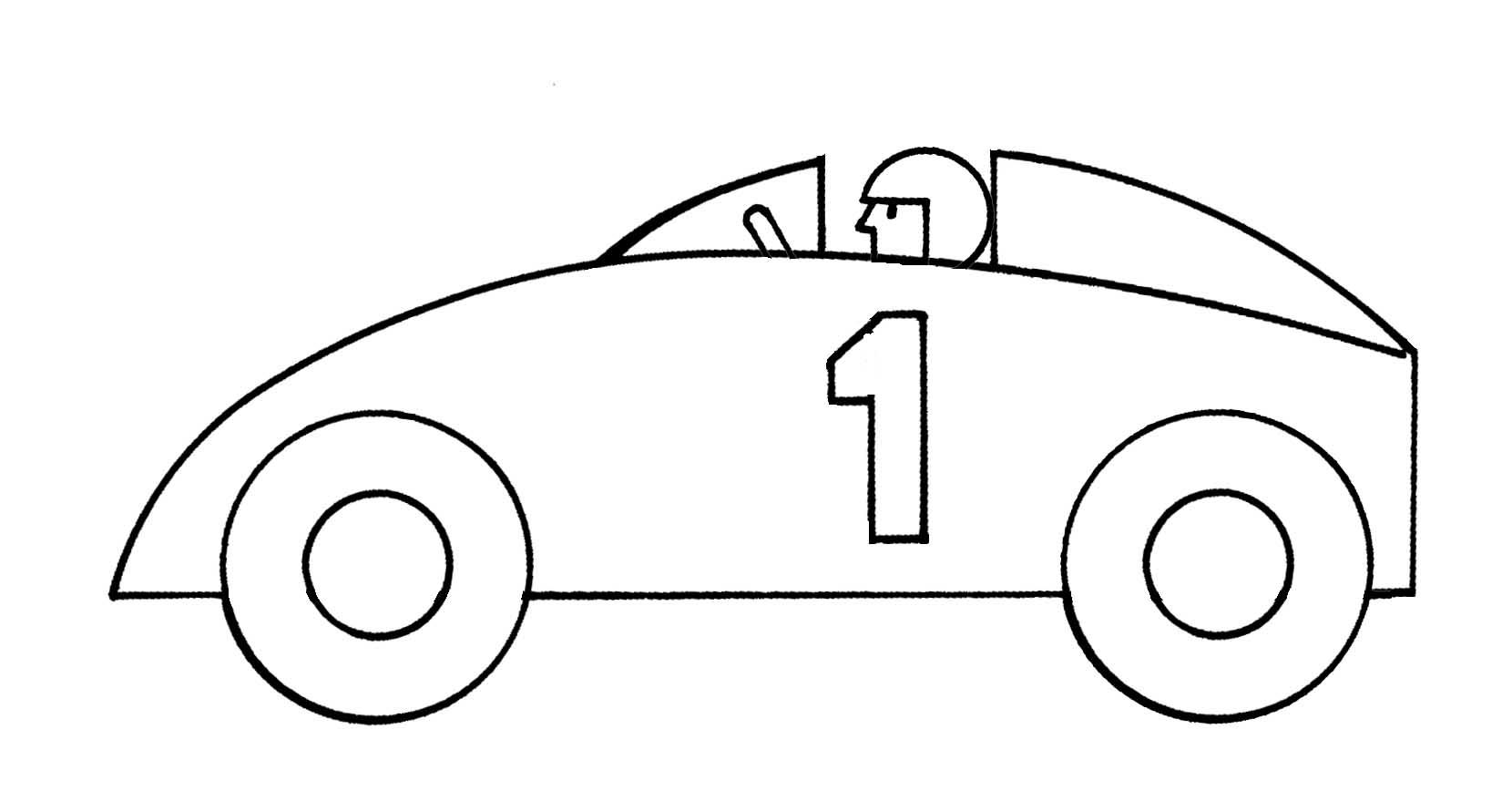 Race Car Clip Art For Kids