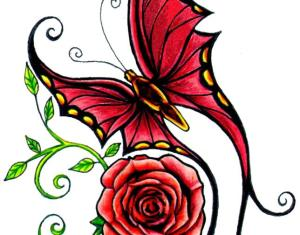 Tattoo Rose Design