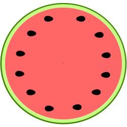 watermelon slice clipart clip cliparts melon paper seedless library circle seedles coloring templates clipartpanda wedge clipground 20clipart 20slice 20watermelon umbrella