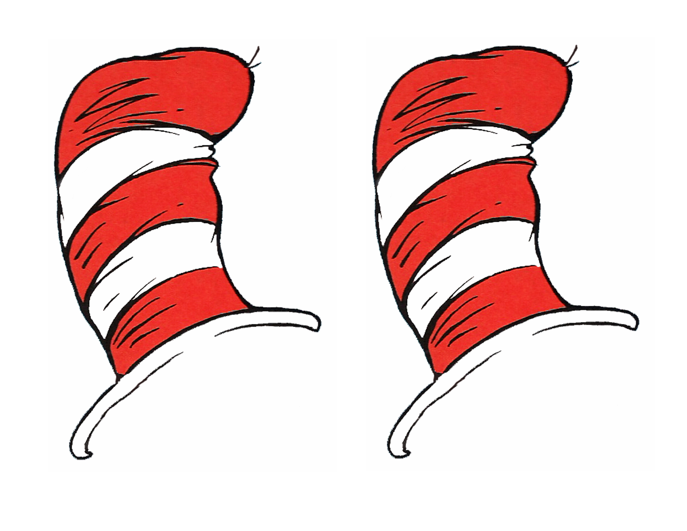 Cat In The Hat Bow Tie Template