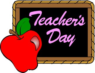 teacher cartoon clipart apple teachers clip happy teaching appreciation cliparts apples subject greeting library computer clipartmag clipartion attribution forget link