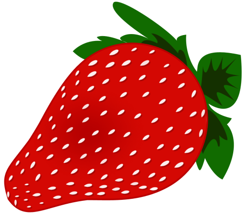 small resolution of word strawberry clipart 1