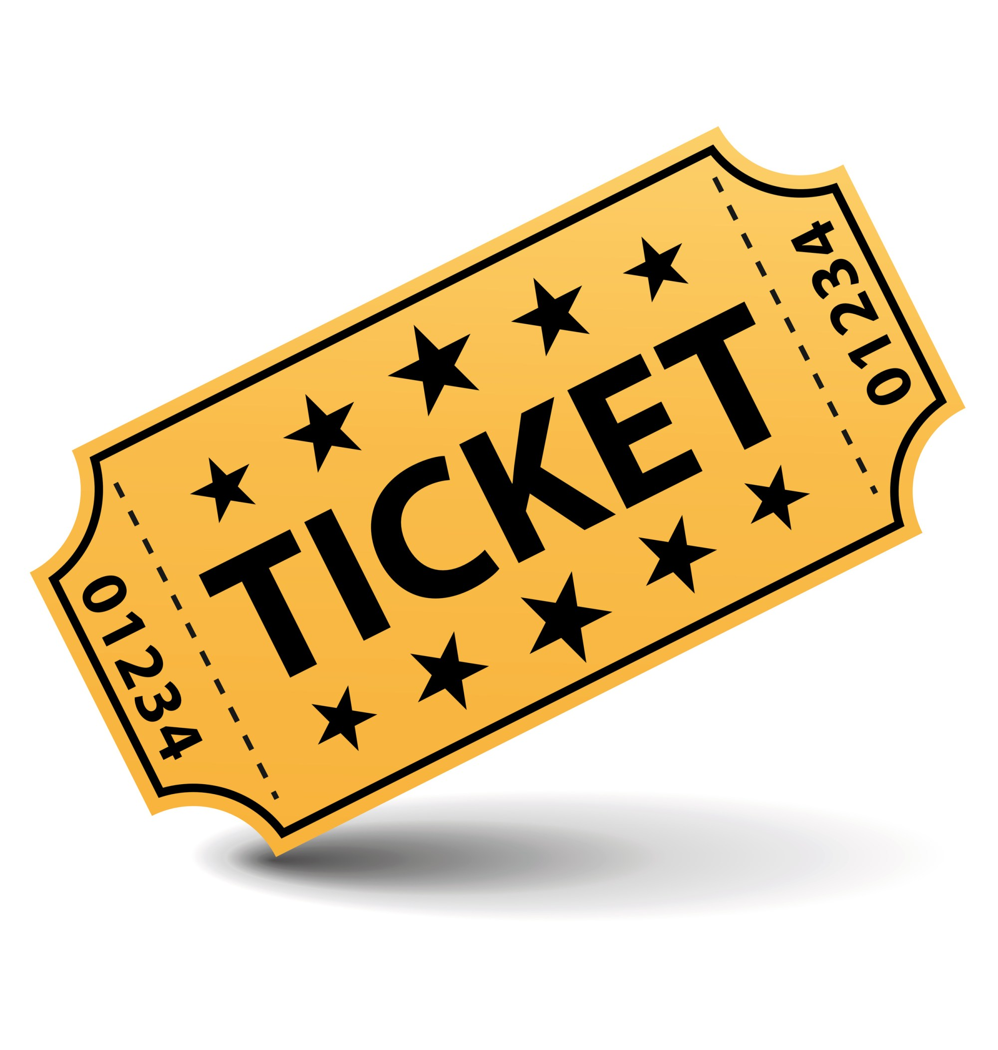 hight resolution of clipart ticket
