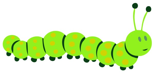 caterpillar clip art