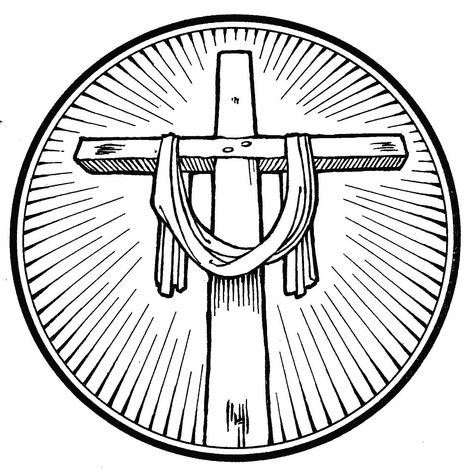 Clip Art Easter Cross