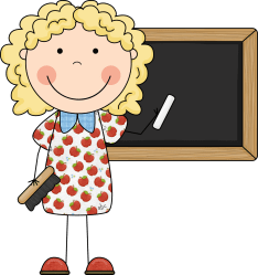 teacher clip happy cliparts attribution forget link don august