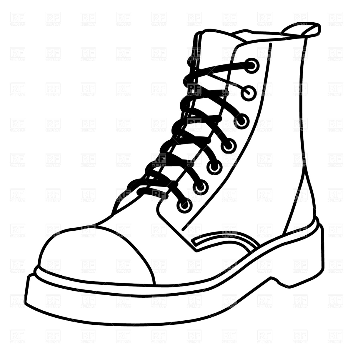 Shoe Prints Clip Art