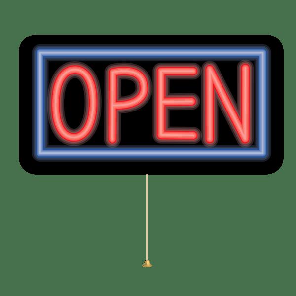 Open Sign Clip Art