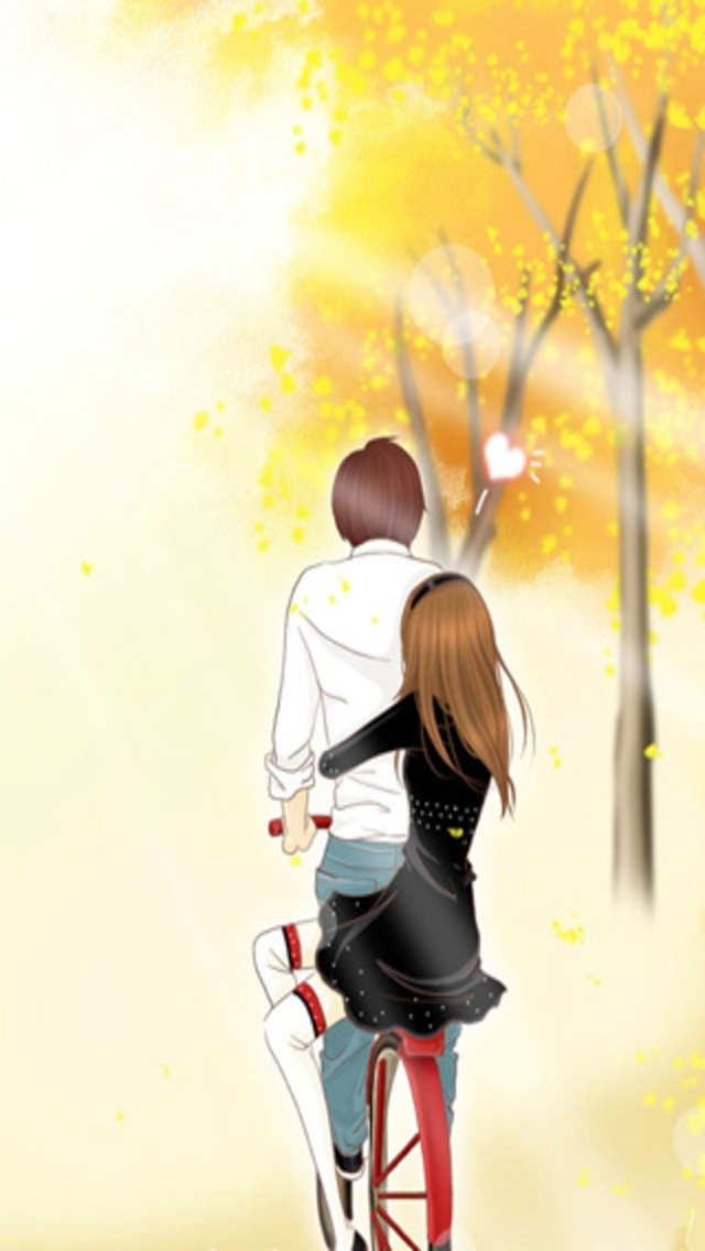 Chibi Cute Couple Wallpaper Cute Couple Wallpaper For Iphone Cliparts Co