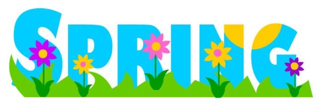 Image result for happy spring banner clip art