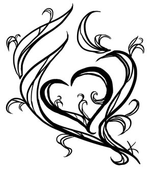 heart drawings drawing simple tattoo cool tattoos designs draw sketch hearts meaning cliparts paper clipartmag sun respect attribution forget link