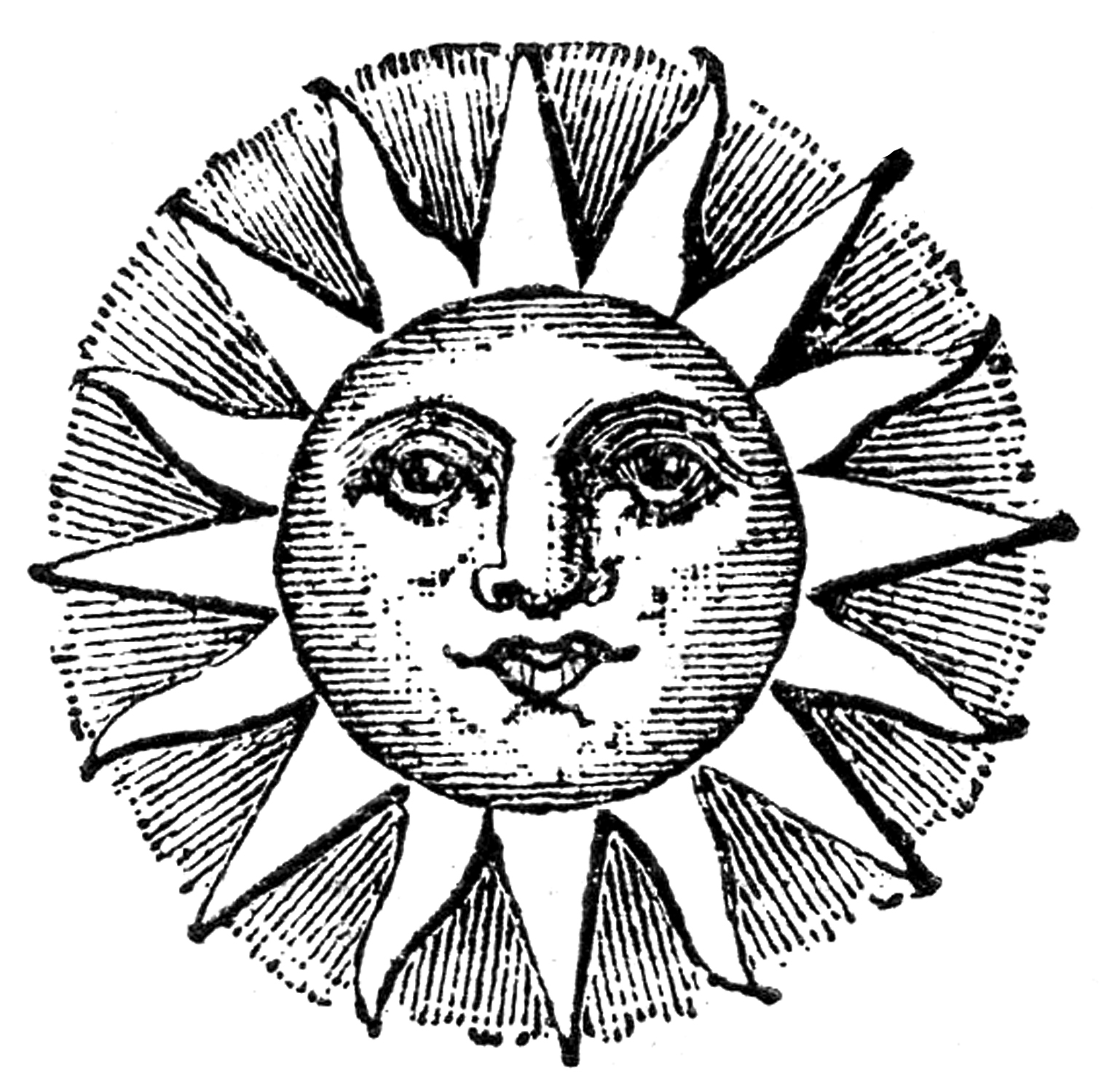 Cool Sun Drawings