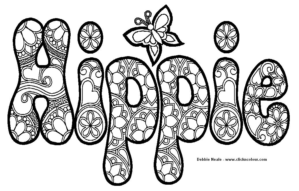 Trippy Weed Coloring Book Pages Coloring Pages