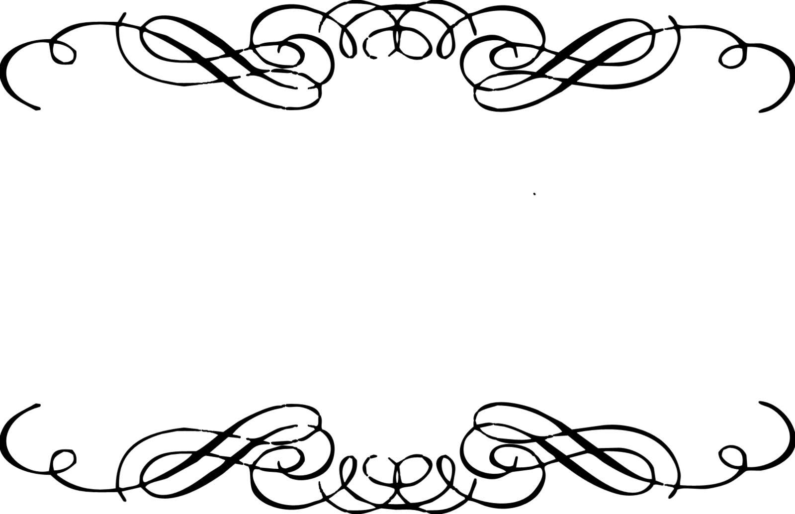 Vintage Scroll Clip Art
