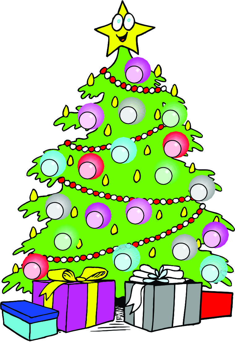 Christmas Tree Cartoon 2014   نجوم مصرية