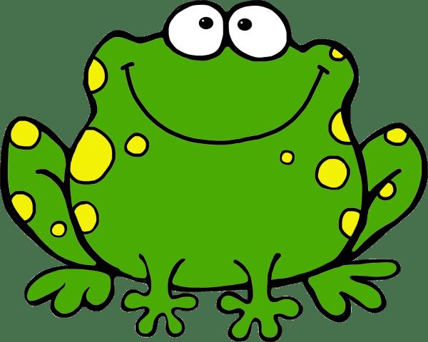 frog clip art kids
