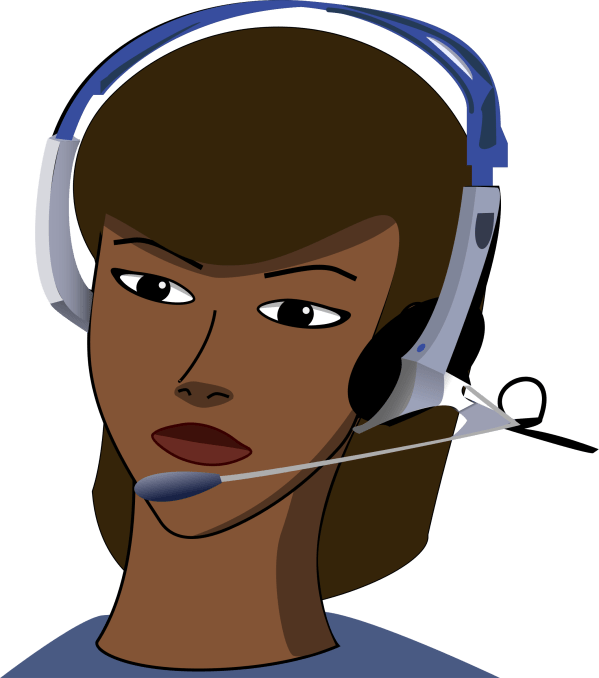 Call Center Agent Clip Art