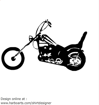 Harley Bagger Motorcycle, Harley, Free Engine Image For