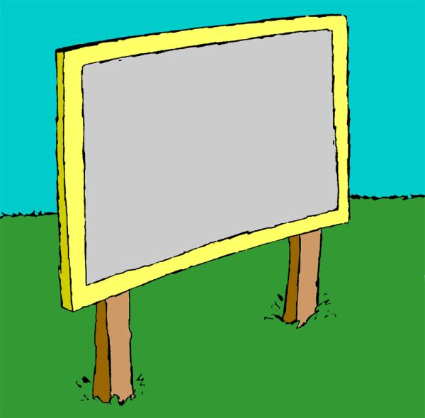 Free Sign Clip Art