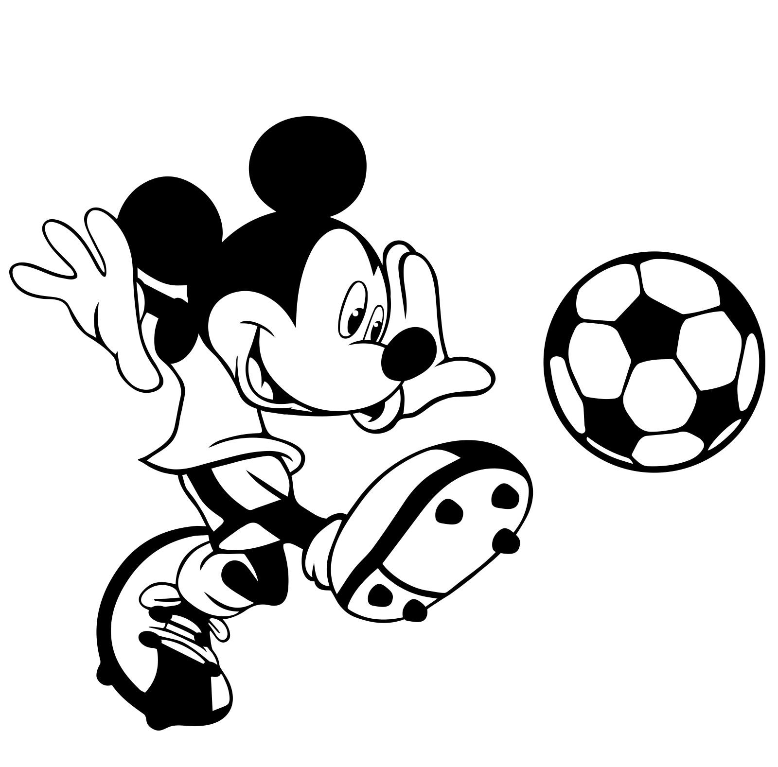 Mickey Mouse Clip Art Free Black And White - Novocom.top