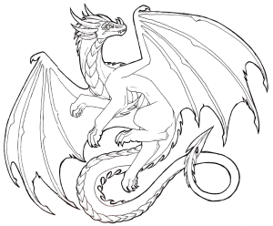 dragon drawings drawing flying realistic sketches sketch easy cool cliparts line pencil dark awesome lineart dragonfly clipart drawn bing deviantart