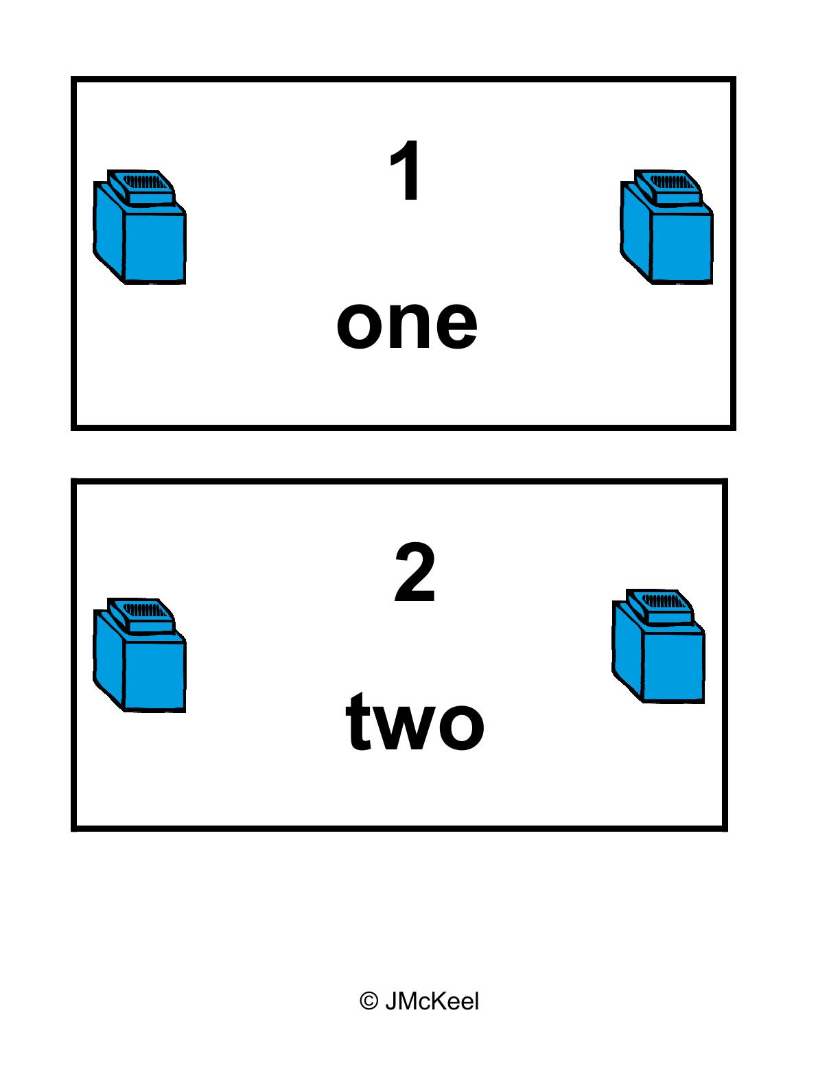 Unifix Cube Clip Art