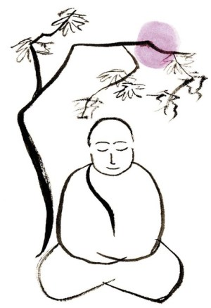 buddha drawing simple meditation zen draw buddhism sketch cliparts inner peace projects attribution forget link don