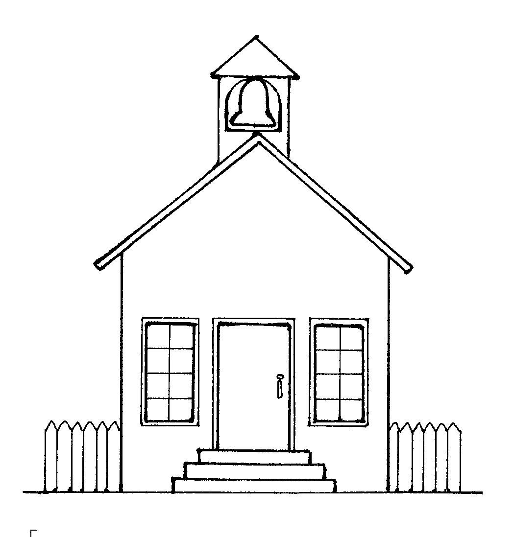 School House Outline