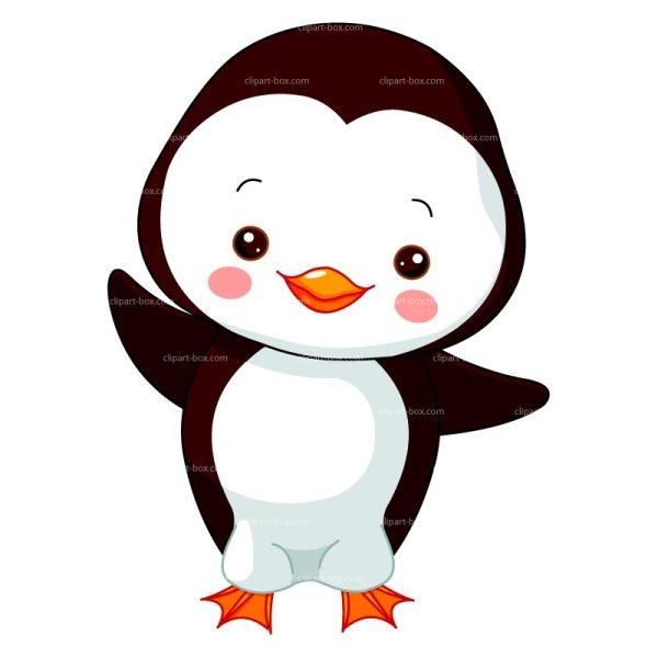 Cute Baby Penguin Clipart