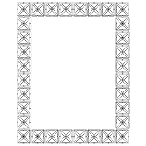 frame 2 outline clipart, cliparts of frame 2 outline free