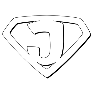 Super Jesus Outline clipart, cliparts of Super Jesus