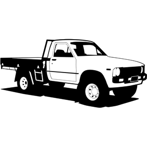 Toyota Hilux clipart, cliparts of Toyota Hilux free