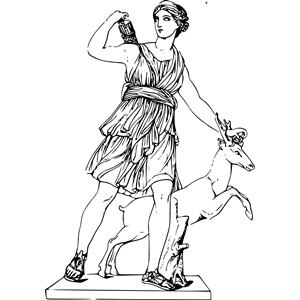 Artemis clipart, cliparts of Artemis free download (wmf