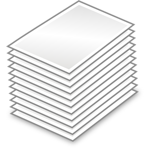 Stack Of Papers clipart, cliparts of Stack Of Papers free