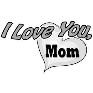 Download I Love You, Mom clipart, cliparts of I Love You, Mom free ...