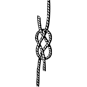 Seizings, hitches, splices, bends and knots clipart