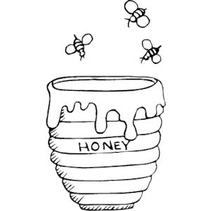 Bees & Honey clipart, cliparts of Bees & Honey free