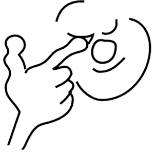 Rubbing Eyes clipart, cliparts of Rubbing Eyes free