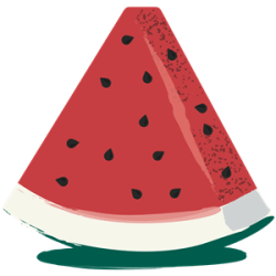 Watermelon Slice clipart cliparts of Watermelon Slice free download wmf eps emf svg png gif formats