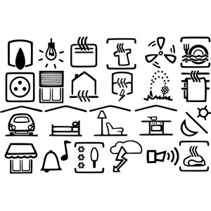 electric symbols clipart, cliparts of electric symbols