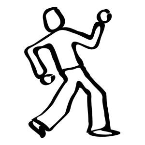 Dancer sketch clipart, cliparts of Dancer sketch free