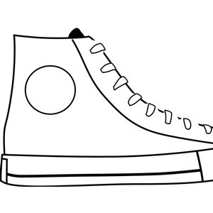 White Shoe clipart, cliparts of White Shoe free download