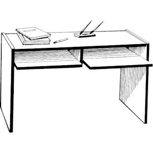 Desk clipart, cliparts of Desk free download (wmf, eps