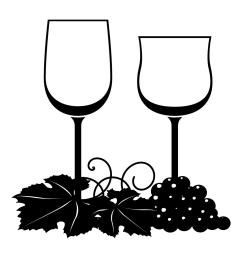 free vector clipart wine [ 1024 x 1024 Pixel ]