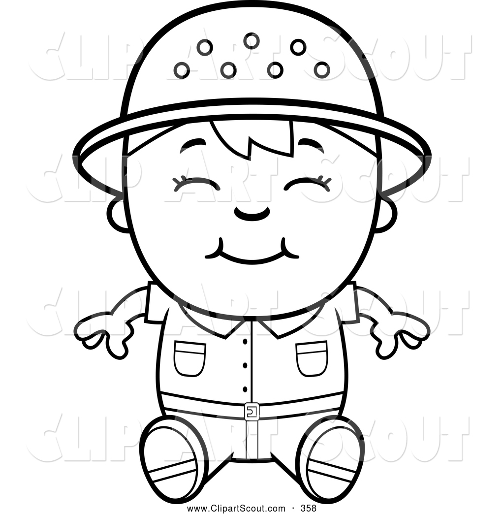 Royalty Free Line Art Stock Scout Designs