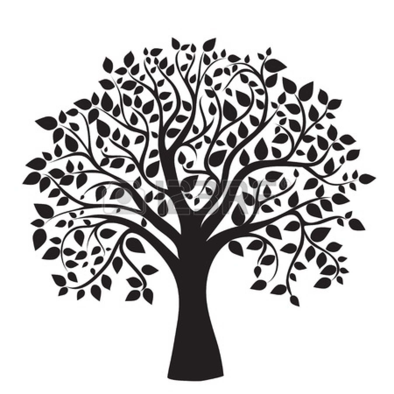 Simple Tree Clip Art At Vector Clip Art Online Image 722