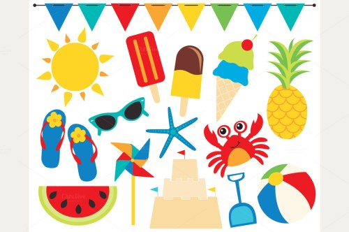 small resolution of beach ball clipart products creative market 2